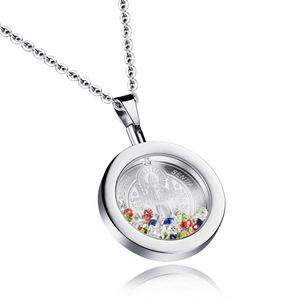 Fashionable Trend Locket Photo Frame Pendant Necklace