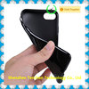 Factory for iPhone 7 Soft TPU case black TPU Gel Case for iPhone 7 7Plus
