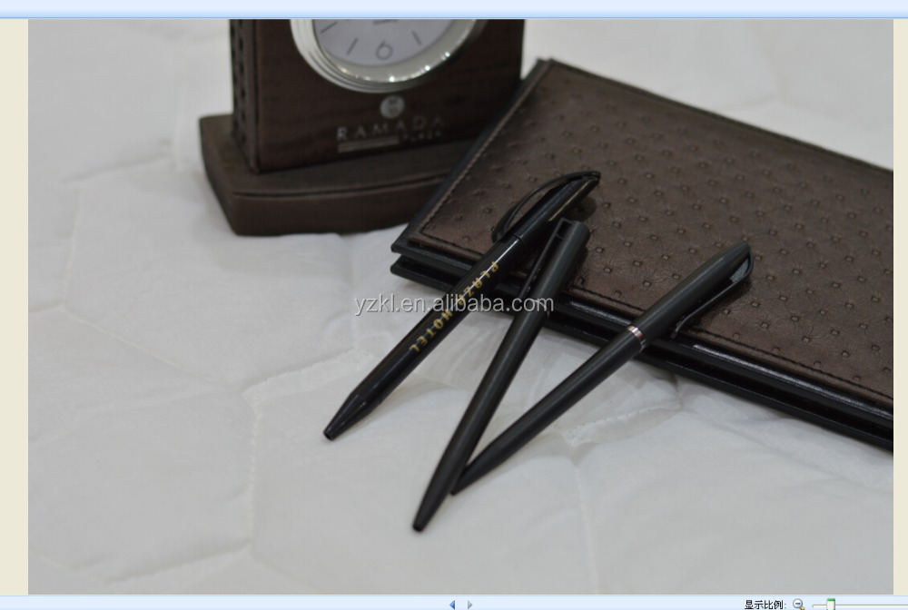 China Supplier simple twist plastic ball pen for hotel use