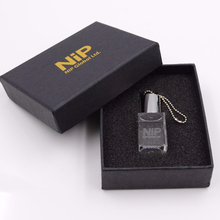 Crystal USB - LED Light Custom Usb Flash Drive Mini Pendrive 8gb