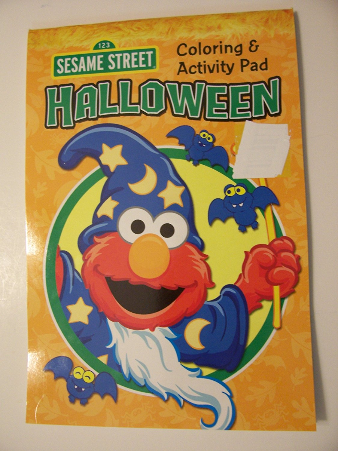 buy sesame street coloring & activity pad ~ halloween edition (elmo