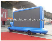 wanzhou car rental led display full color screen high quality