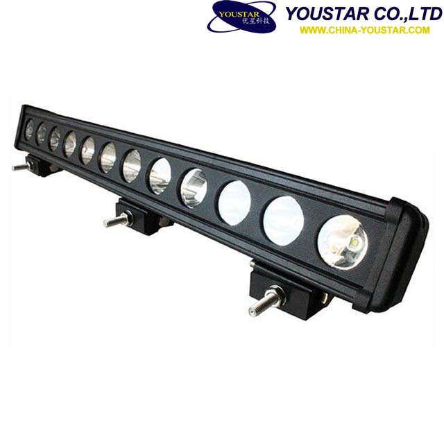 Single Row 23 Inch 120W 12600LM LED Work Light Driving Light Bar Offroad Boat Car Truck 4x4 SUV ATV Spot Flood Combo 12V
