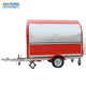 Outside mobile kitchen trailer/mobile fast food van Made in shanghai