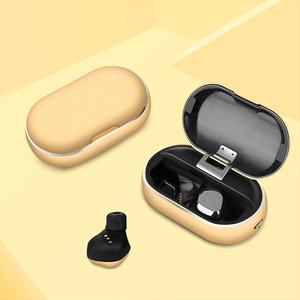 Image of 128 Hours Long Battery Life True Wireless V5.0 Headset IPX7 Waterproof X26 Mini TWS Wireless Earphone with Charging Case
