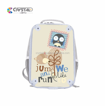 f37e05f261e3 Custom grey color boys school bags printing cartoon kids backpack for  primary school