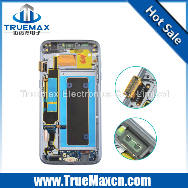 Glass Broken Repair for Samsung Galaxy S7 Edge G935F LCD Display Touch Screen Assembly Complete With Frame