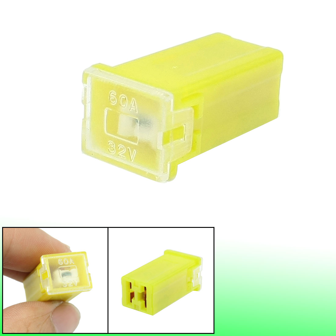 uxcell Automotive Mini Cartridge Fuse 32V 30A Female J Case Box for Car Truck SUV Vehicle