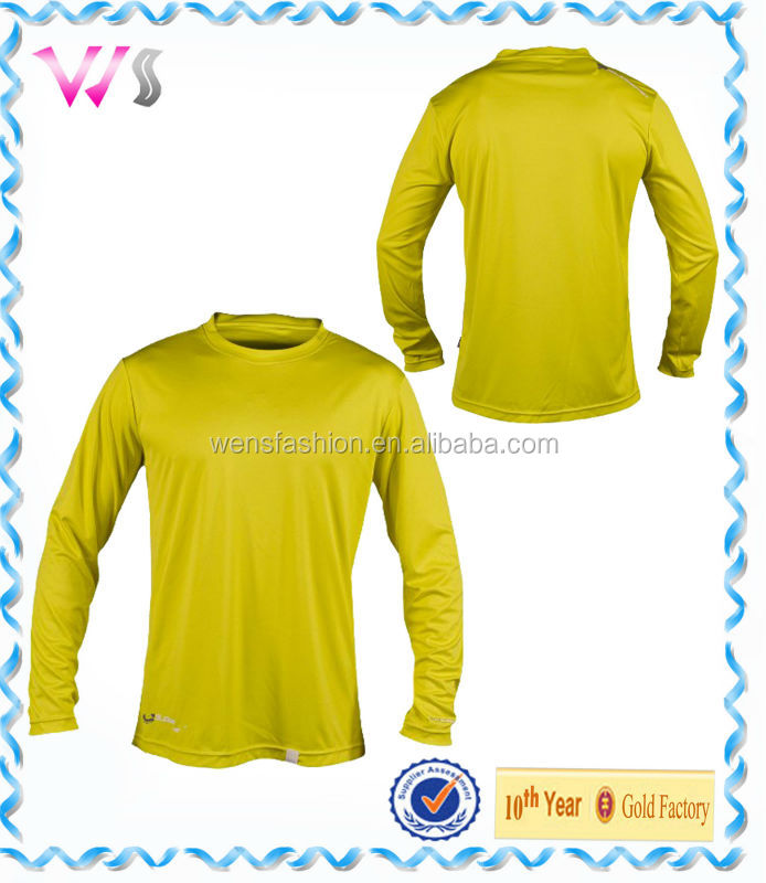 Mens UV Shield Water shirt Long sleeve Top