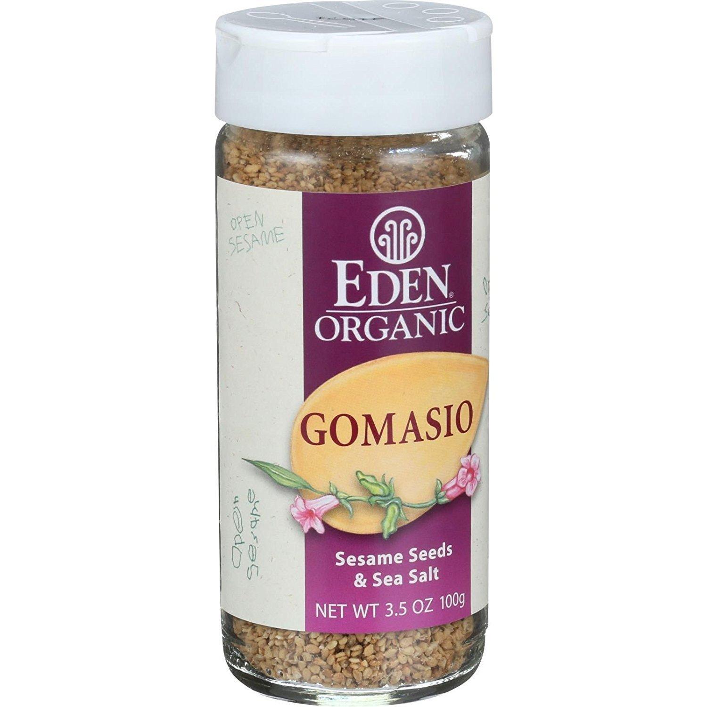 Eden Foods Organic Gomasio - Sesame Salt, 3.5 Ounce -- 6 per case