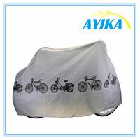 winter Taffeta material Silver Universal Waterproof Anti UV Wind bicycle saddle cover