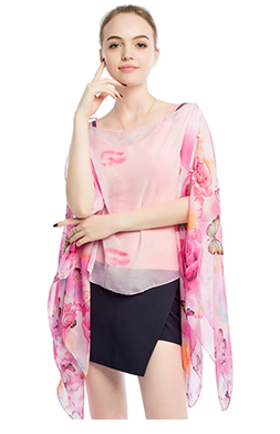 Fashion Women Kimono Cover Up Beach Sarong