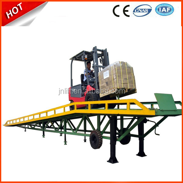 Horse used trailer ramp/Mobile yard ramp/ forklift loading ramps