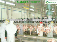 chicken slaughterhouse equipment/poultry processing line