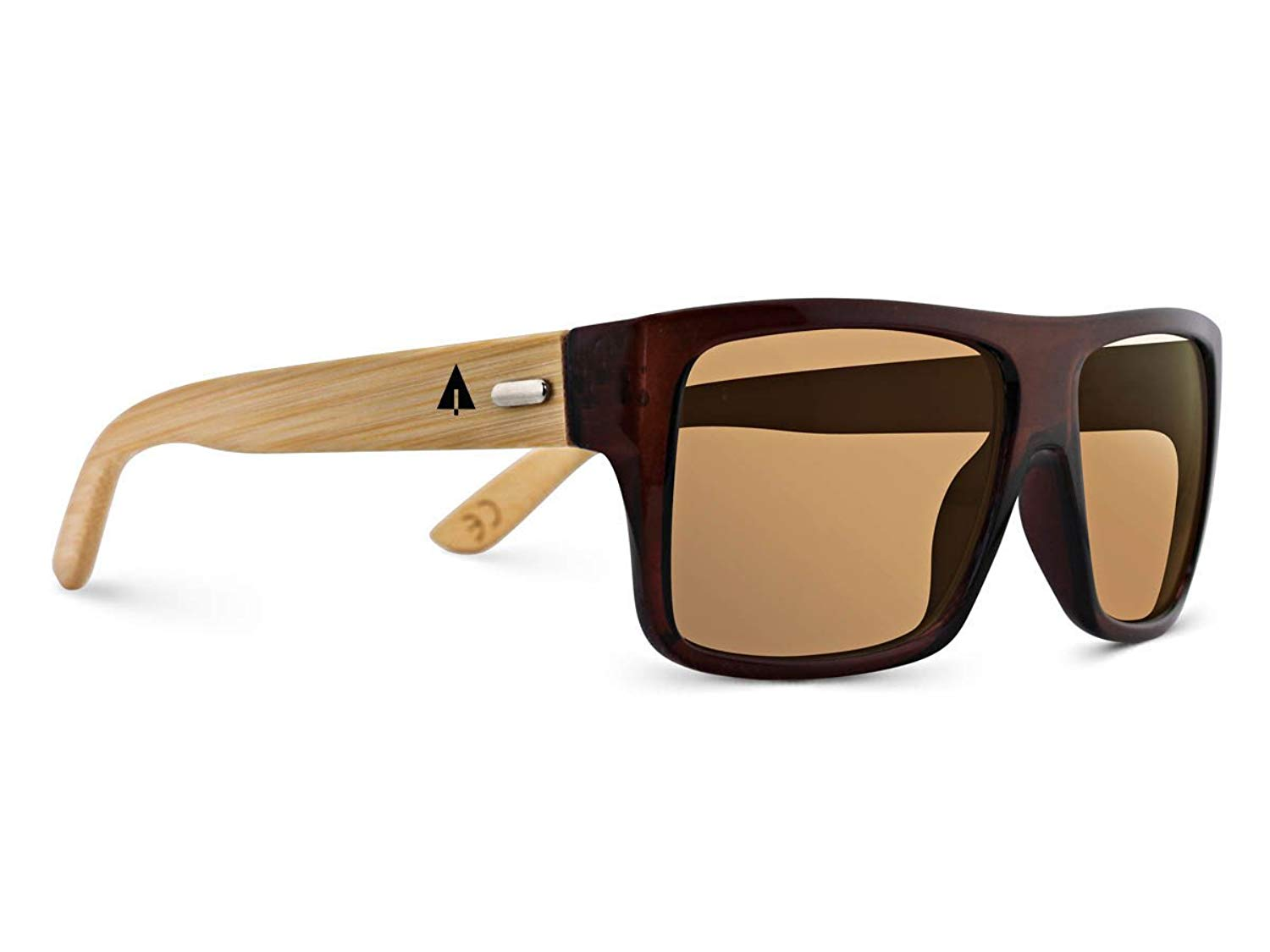 1aa929ac0b0 TREEHUT Wooden Bamboo Sunglasses Temples Classic Aviator Retro Square Wood  Sunglasses