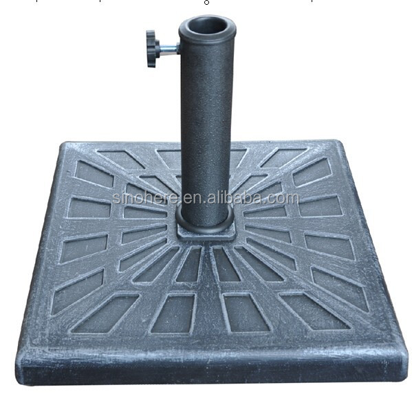 12KGS Garden Umbrella Display Square Stand Pc