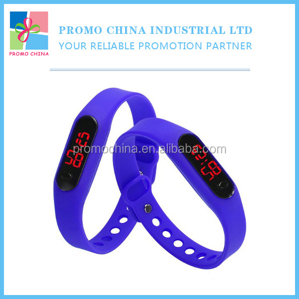 Personalized Promotional Cheap Silicone Watch For Giveaways