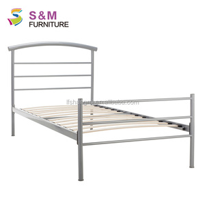 European style Indoor cheap metal bed frame classic daybed
