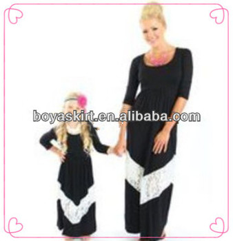849945476f24b 2014 Fashion Popular Dress Summer Extra Long Maxi Dresses Solid Color Maxi  Dress For Baby Girls With Lace Ruffle And Sleeves - Buy 2014 Fashion ...