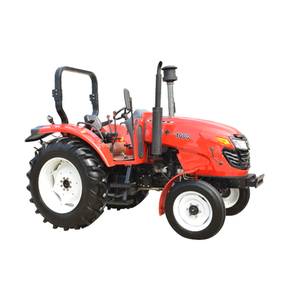 16 +8 shuttle shift luzhong1000 100hp 2WD farm tractor in low price