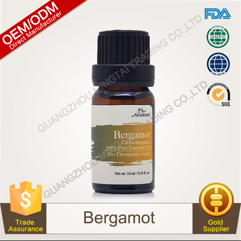 100% Pure Plants Extracts Bergamot Essential Oil OEM/ODM Professional Supplier
