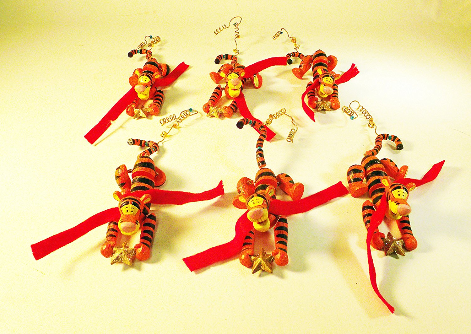 Tigger Christmas Ornaments.Buy Set Of 6 Tigger Christmas Ornaments From The Disney