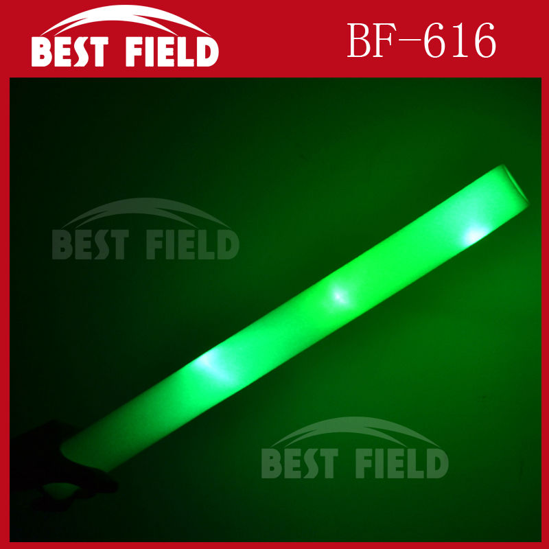 Customized led solid color party led foam light led foam wand