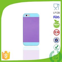 low price china mobile phone for iphone 4 4s pc+silicone phone case