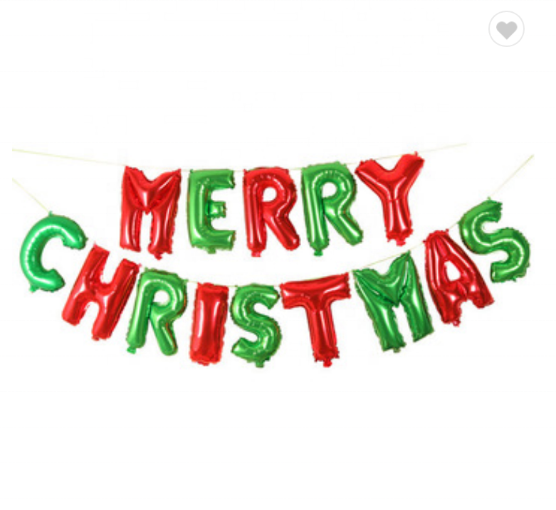 Merry Christmas 2019 Images.Tf 2019 New Year 16 Letter Merry Christmas Foil Balloons Set Christmas Eve Party Ballons Xmas Red And Green Xmas Balloon Green Buy Christmas Letter