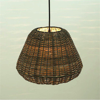 Home Furniture Lighting Wooden Ceiling Lamp Shade For Incandescent Luminaire