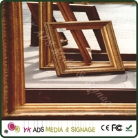 Record frame Classical Display Photo Picture Frames Wooden