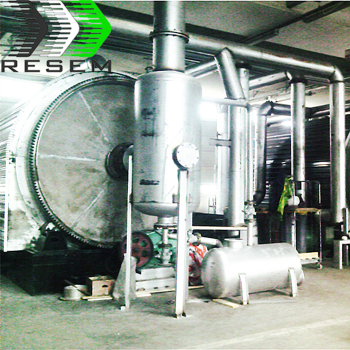 RESEM 10 Tpd Convert Waste to Energy <strong>Scrap</strong> Plastic Pyrolysis Equipment