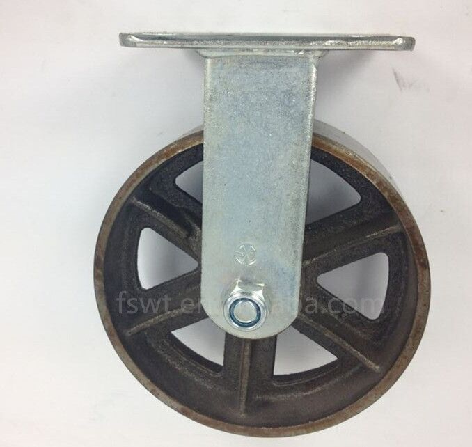 Hot sale antique metal heavy duty movable cart wheel caster