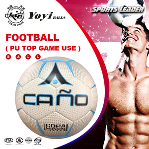the best PU leather thermal bonded football + super foam + NIKE bladder with very good kick touch, ok for professional player