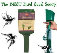 Wholesale PP plastic Heath Bird Seed Scoop filling funnel for bird feeder