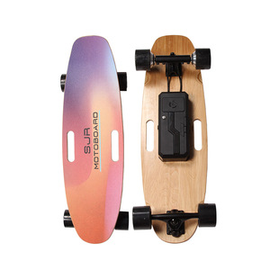 H2S -2019 New design portable dual hub motor 4 wheel electric boosted board electric balance skateboard