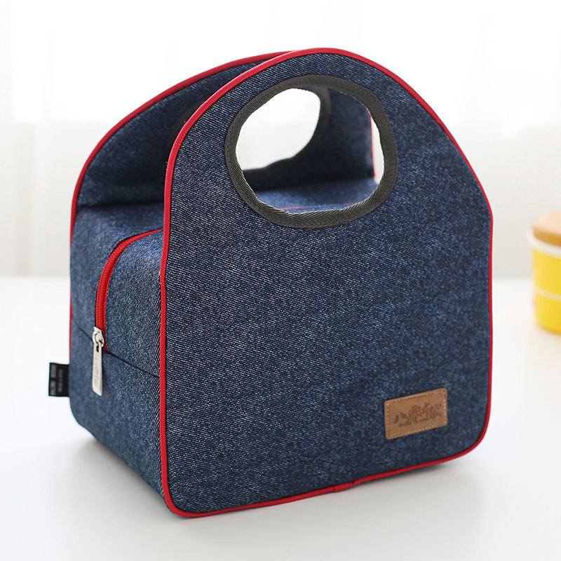newest design pretty functional insulate lunch bag food <strong>delivery</strong> cooler bag ice bag for student