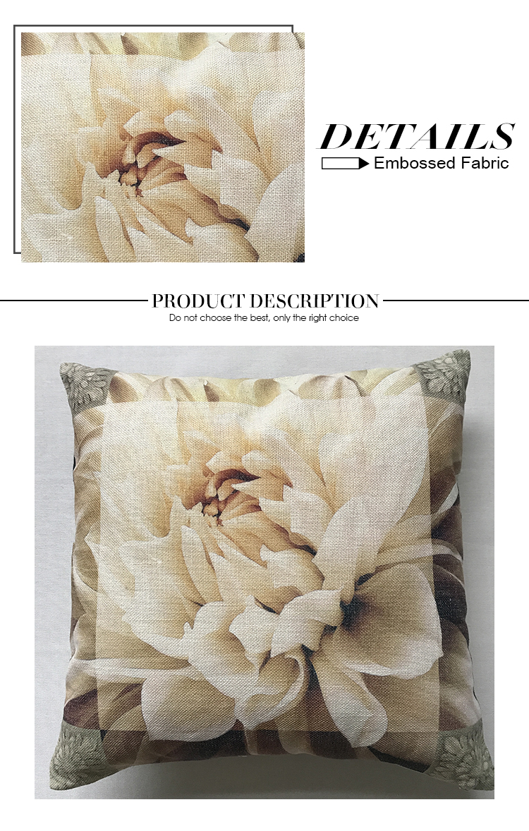 Wholesale Comfortable 100% Polyester plain pillow sham cover for home decor