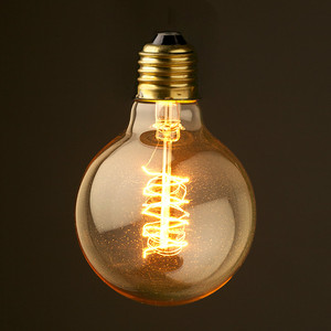 XGY new-lights factory price vintage edison classic bulb G80 G95 G125 40w  60w with E27 E26 base made in china