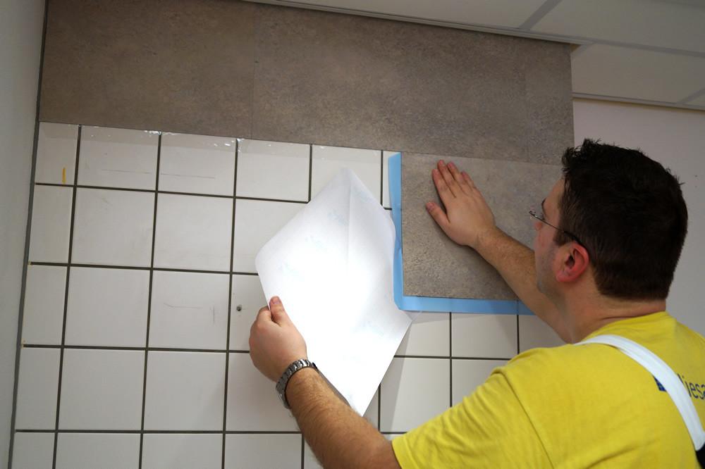 Raamfolie Voor Badkamer : Folie badkamertegels u2013 bouwmaterialen