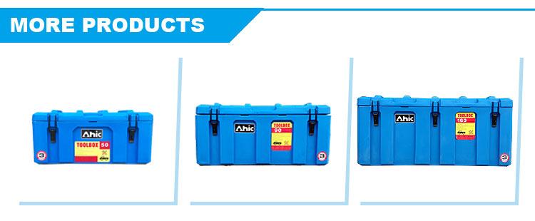 Пользовательские Жесткий сверхмощный пластиковые Worksite Jobsite ящик для хранения инструментов
