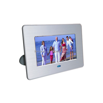 7 Inch Digital Photo Frame Black Compatible With Both Memory Cards ...