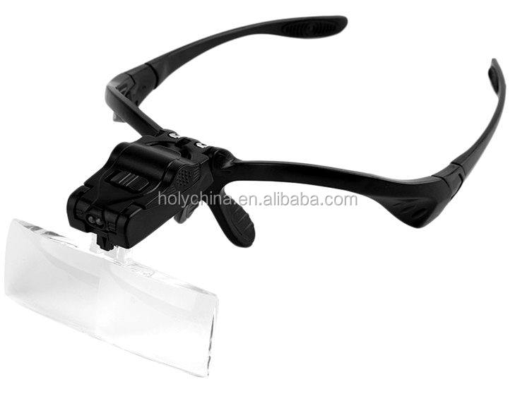 hot sale high quality led light head magnifying glass