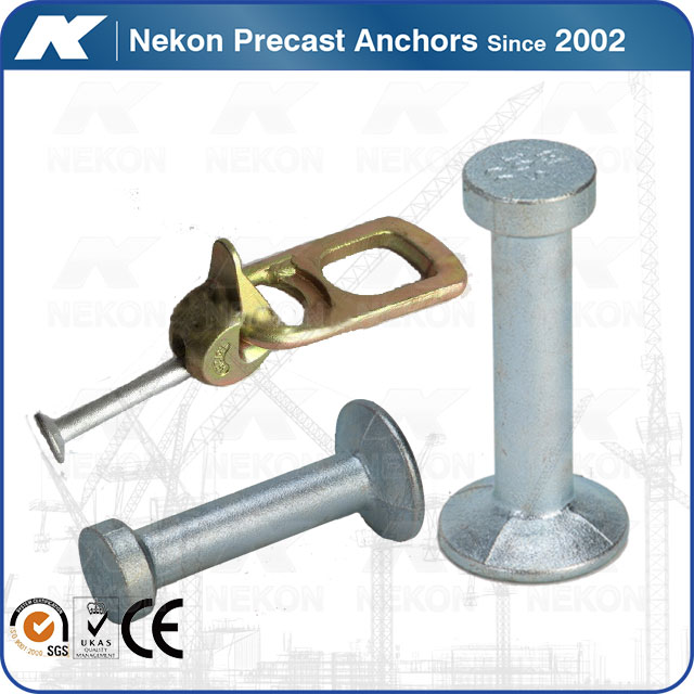 Hot forged Spherical head stud anchor for Precast Concrete