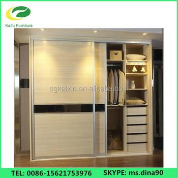 Indian Bedroom Wardrobe Design In Sliding Door Buy Bedroom - Wardrobe design for bedroom in india