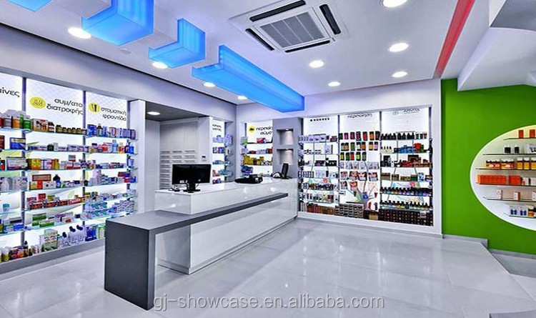 New Style Iron Medical Store Counter Design Buy Furniture
