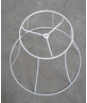 Chinese manufacturer high quality spider metal frame ring cross for lampshade