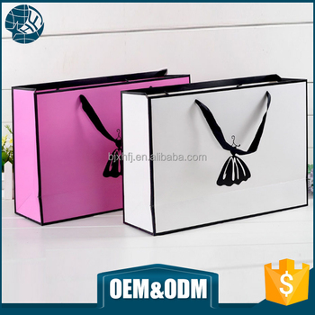 Cheap Smart Design Arrival Popular Garment Shopping Paper Bag ...