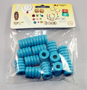 Factory supply colorful bulk wooden beads cufflink crafts tie clip and cuffinks combination
