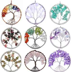 Gemstone Jewelry Tree Of Life Natural Stone Jewelry